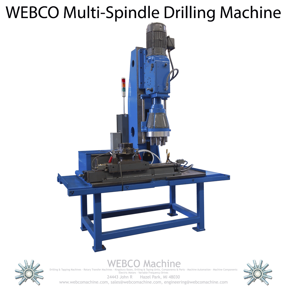 Multiple Spindle Drilling Machine | Webco Machine