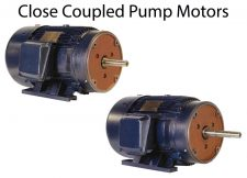 Close Coupled Pump Motors