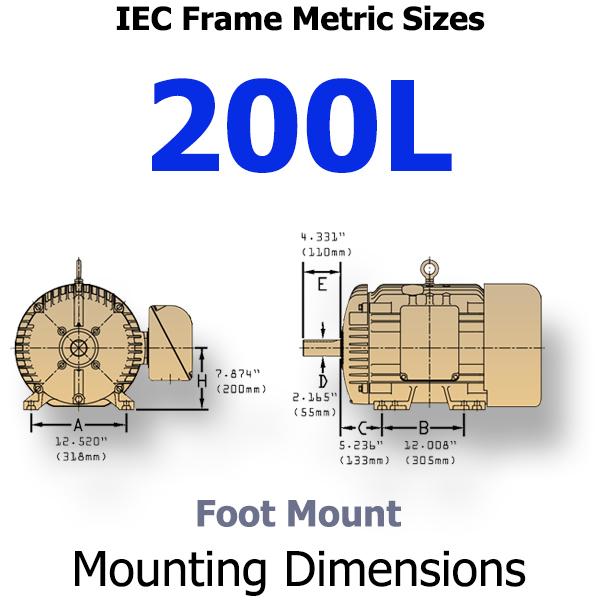 445t Motor Frame Dimensions Impremedia Net