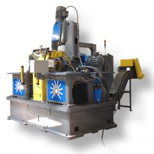 Webco 08-Station, Trunnion, 9 Operation Rotary Transfer Machine
