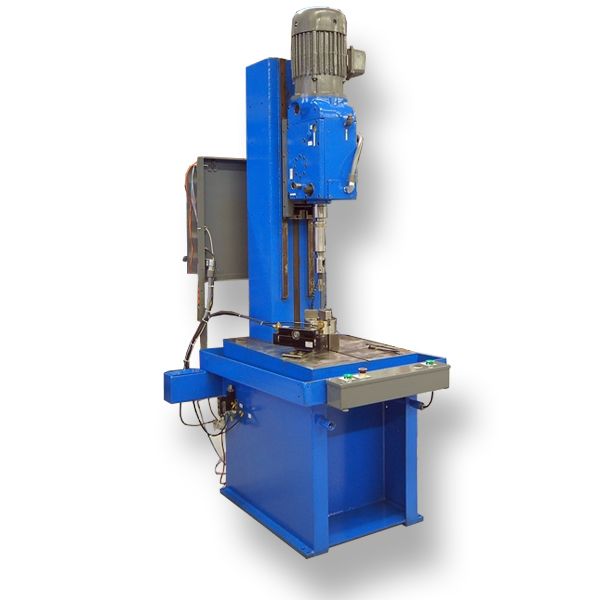 Webco Single Spindle, Vertical Tapping Machine