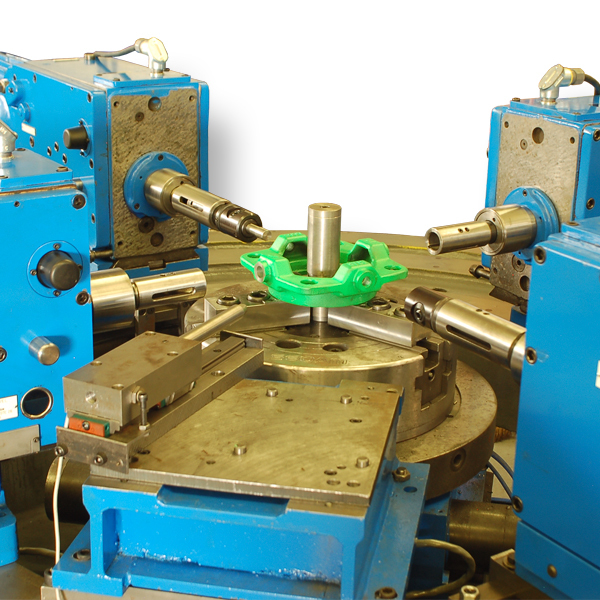 Webco Variable Station, Horizontal Index, 4 Operation Drilling & Tapping Machine
