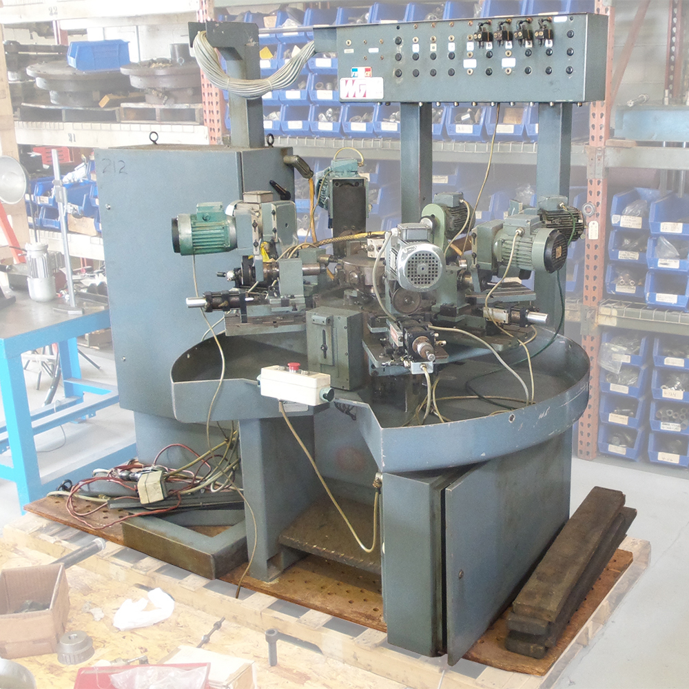 Wirth & Gruffat C128 Rotary Transfer Machine