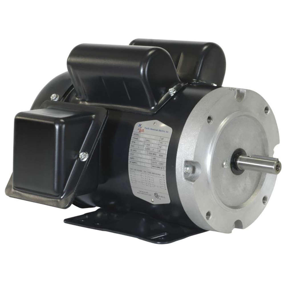 Hp 1755 Rpm 56c Tefc Single Phase Motor General